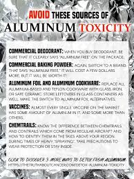 aluminum toxicity 4 ways to detox your brain u0026 body