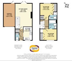 Estate Agents Floor Plans by Westbury Gardens Farnham 2 Bed Semi Detached House For Sale