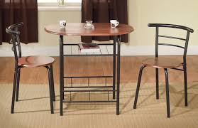 bistro table set 3 piece dining table 2 chairs for kitchen space