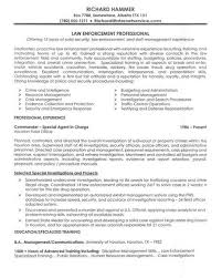 Example Of Objective In Resume For Jobs by Law Enforcement Resume Template Law Enforcement This Is A