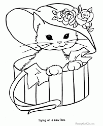 100 cat dog coloring pages how to draw cat and dog coloring