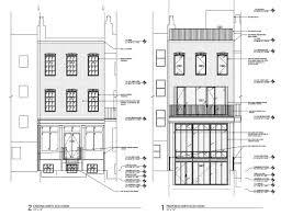 Greek Revival Floor Plans Hdc Lpc 3 17 2015 Historic Districts Council