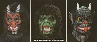 classic halloween monsters 1983 cesar masquerade catalog blood curdling blog of monster masks