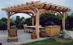pergola design magnificent cedar arbour backyard gazebo kits