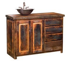 bathroom endearing reclaimed wood bathroom vanity design ideas
