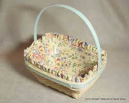 longaberger baskets longaberger baskets retired baskets from harvest treasures of