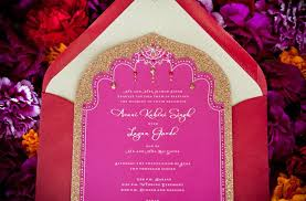 pink and gold wedding invitations pink gold wedding invitations cultural weddings indian