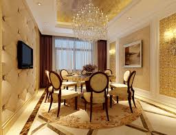 new modern dining room design with classic look for stylish design
