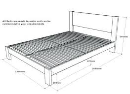 Width Of King Bed Frame King Bed Sizes King Size Bed Frame Nz Boromir Info