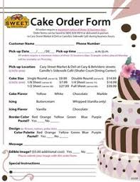 how to write a cake contract bakery business bakeries and wicked