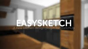 easysketch kitchen design plugin for sketchup youtube