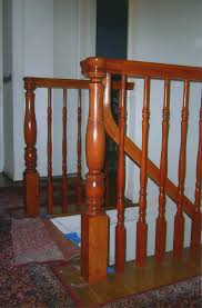 Staining Banister H R Stairs U0026 Railings Portfolio View Our Work