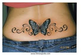 butterfly tattoos your back 1