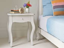 curved wood side table awesome caign side table design with white ceramic tiles floor