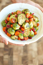 balsamic roasted brussels sprouts and carrots damn delicious
