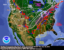 frontal boundary map daily weather newsletter 2013 12 01