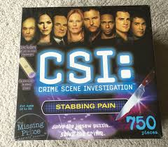 csi crime scene investigation 750 jigsaw puzzle uv light solve
