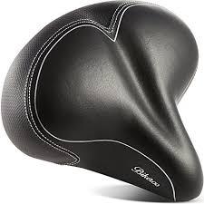 Most Comfortable Mtb Saddle Amazon Com Oversized Comfort Bike Seat Bikeroo Most