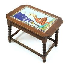 Tile Top Patio Table Tile Top Table Tile Top Table With Flamenco Dancers Tile Top Patio