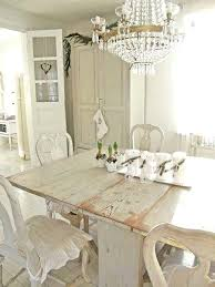 shabby chic dining room table and chairs uk white shabby chic