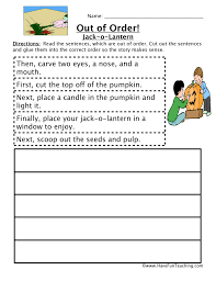 sequencing worksheets for 3rd grade free worksheets library