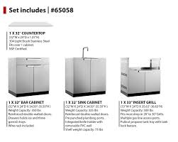 Outdoor Kitchen Sink Cabinet Newage Products 97