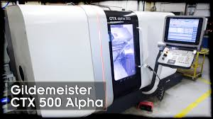 metal processing gildemeister ctx 500 alpha