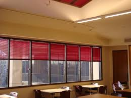 red horizontal blinds design come with contemporary style blinds