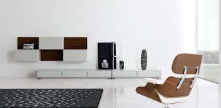 living room mid century furniture in minimalist living room on