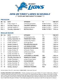 lions record on thanksgiving games detroit lions schedule finally released