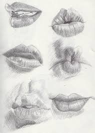 examples of lips march 4th by khantinka on deviantart draw