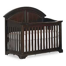 hgtv home baby kinston 4 in 1 convertible crib in antique java
