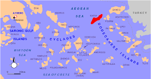 map of the islands ikaria maps nautical and historical maps of island
