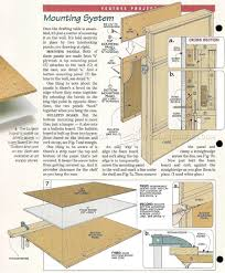 373 fold down drafting table plans workshop solutions