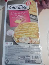 3 fr cote cuisine feuilletés au jambon et a l emmental 2 côté table 280 g