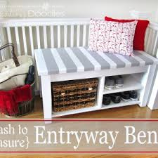 Shoe Bench Entryway Decorating Awesome Entryway Bench So That The Arrangement Of Your