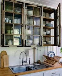 rustic kitchen cabinets with glass doors 27 best rustic kitchen cabinet ideas and designs for 2021