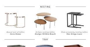 Zara Home Side Table 10 Side Table Types For Every Living Room Style My Paradissi