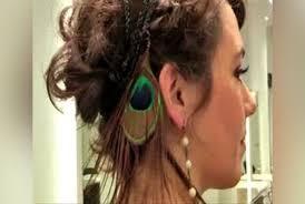chignon séché comment cuisiner coiffer mes cheveux courts pour les fêtes