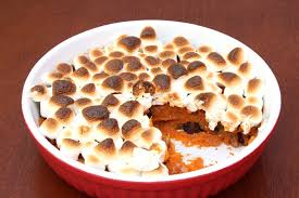 sweet potato casserole recipe with marshmallows