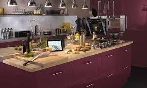 cuisine couleur fin déco cuisine couleur framboise 27 asnieres sur seine cuisine