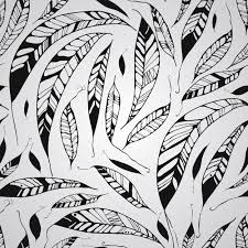 vector seamless pattern with feather patterns creative market