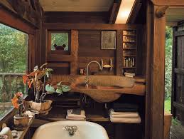 The Handmade Home by J B Blunk U0027s Handmade Home The Bathroom With A Sink Carved From