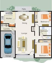 Car Floor Plan Burnside Village Villa 2 Bed 1 Bath 1 Car