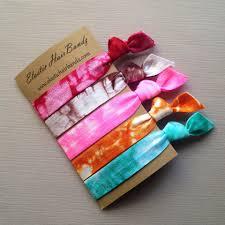 elastic hair ties the marley tie dye hair tie collection 5 elastic hair ties by