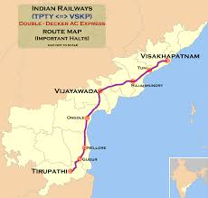 Double Map File Tirupathi Visakhapatnam Double Decker Express Route Map