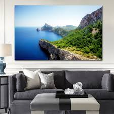 popular ocean pictures wall art buy cheap ocean pictures wall art order 1 piece nature beach rocks sea cliff ocean wall art pictures modern paintings beauty landscape print on canvas