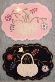 968 best penny rugs images on pinterest penny rugs wool felt