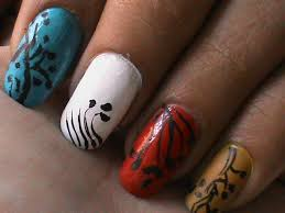 Nail Art Designs To Do At Home Nail Art Designs For Beginners At Home Easy Nail Art