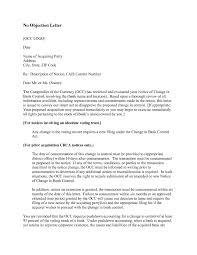 Noc Resume Sample by Sample Of Objection Letter It Resume Cover Letter Sample
